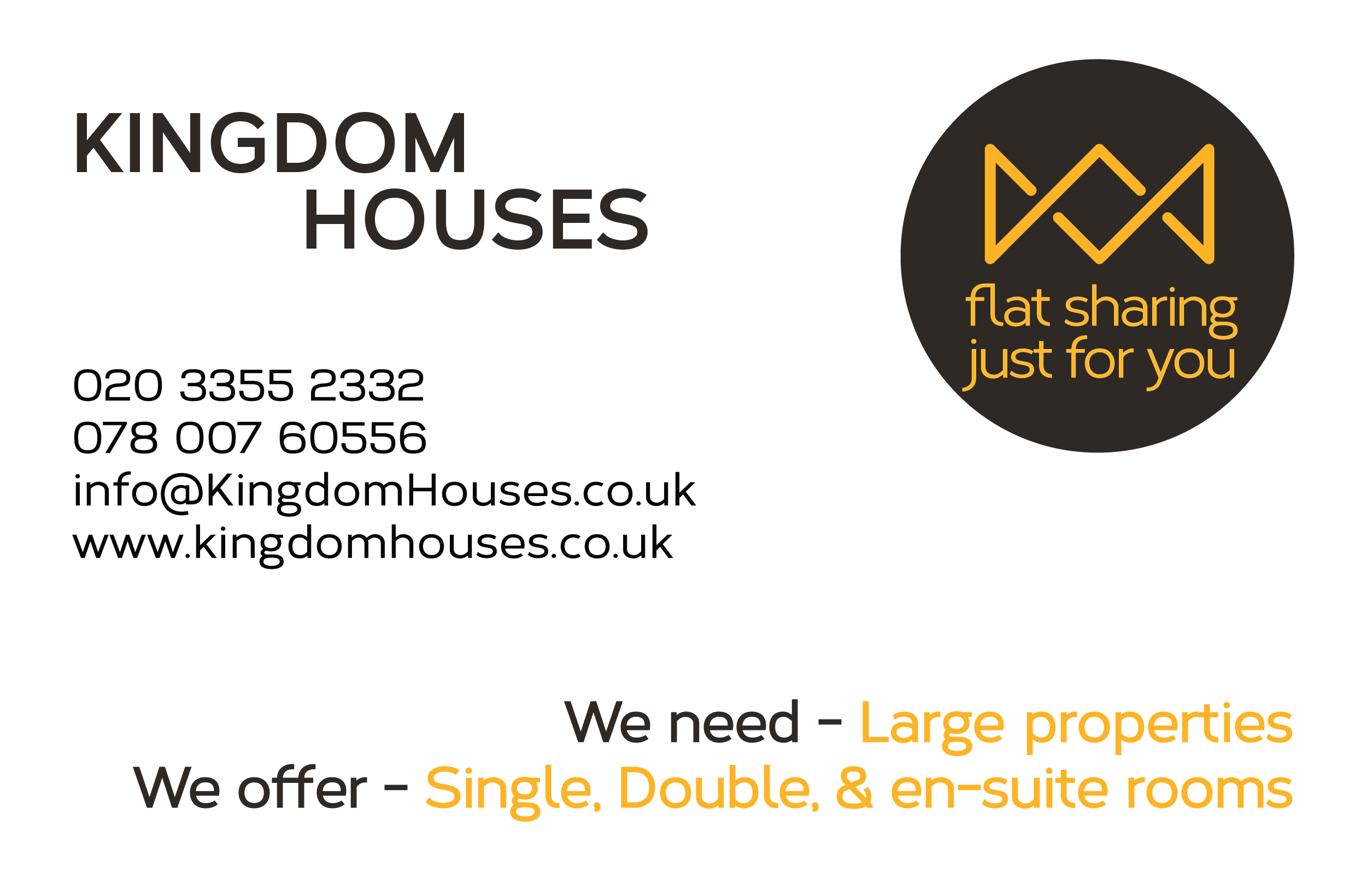 Kingdom Houses Business Card