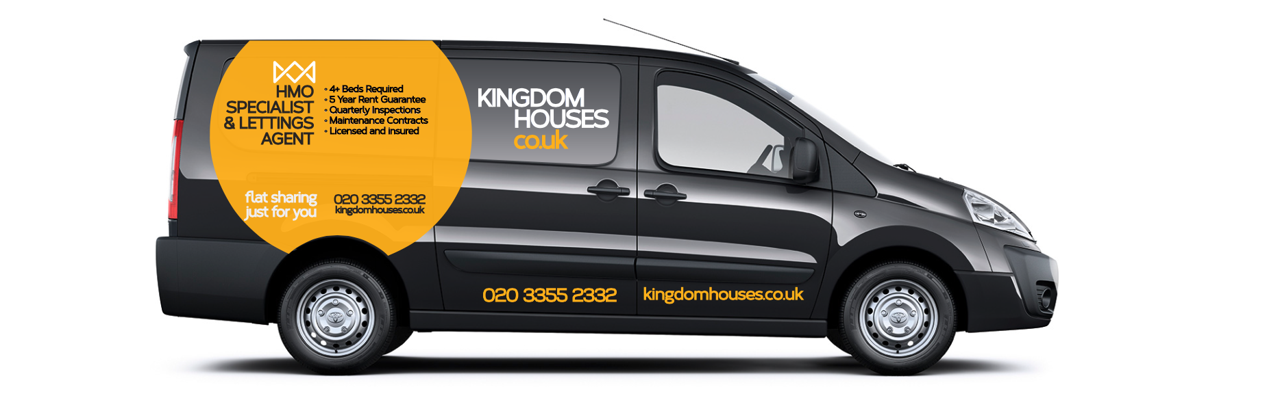 Kingdom Houses Proace Branding