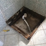 Repairing a leaky shower (Previous grouting didn't do the job)