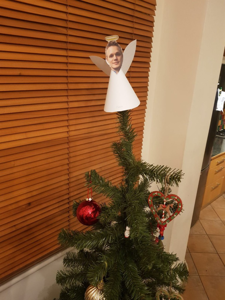 A lovely Christmat tree with an Angel